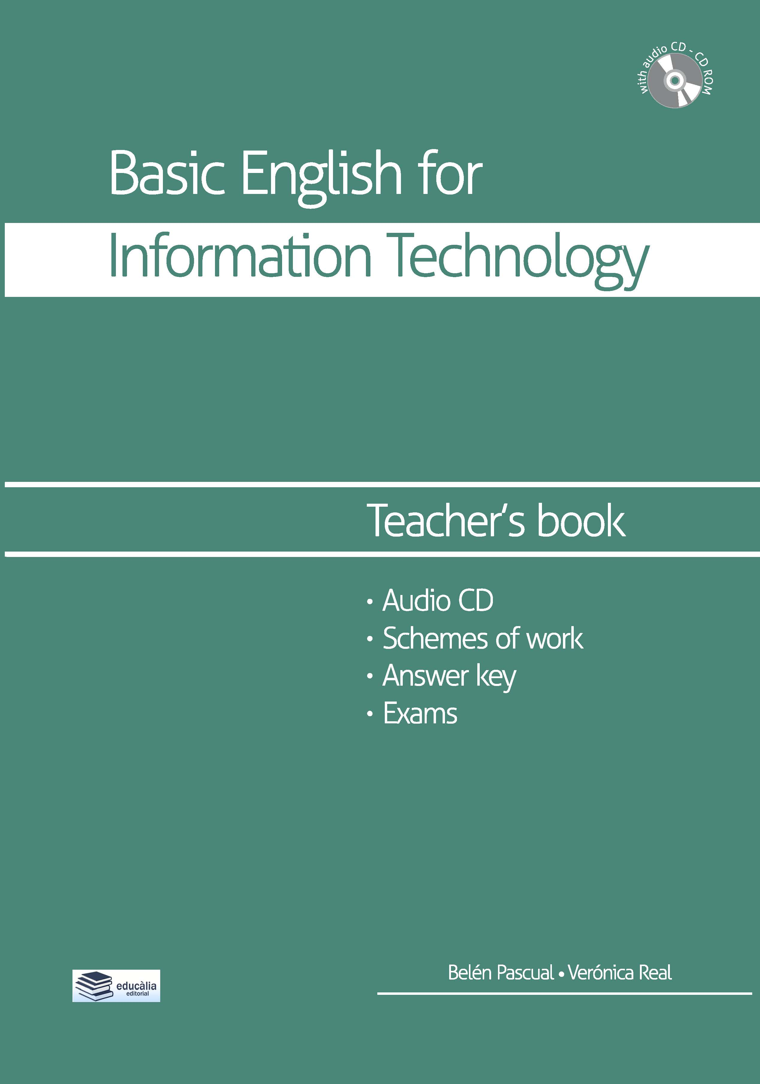 Teacher's book Basic english for information technology