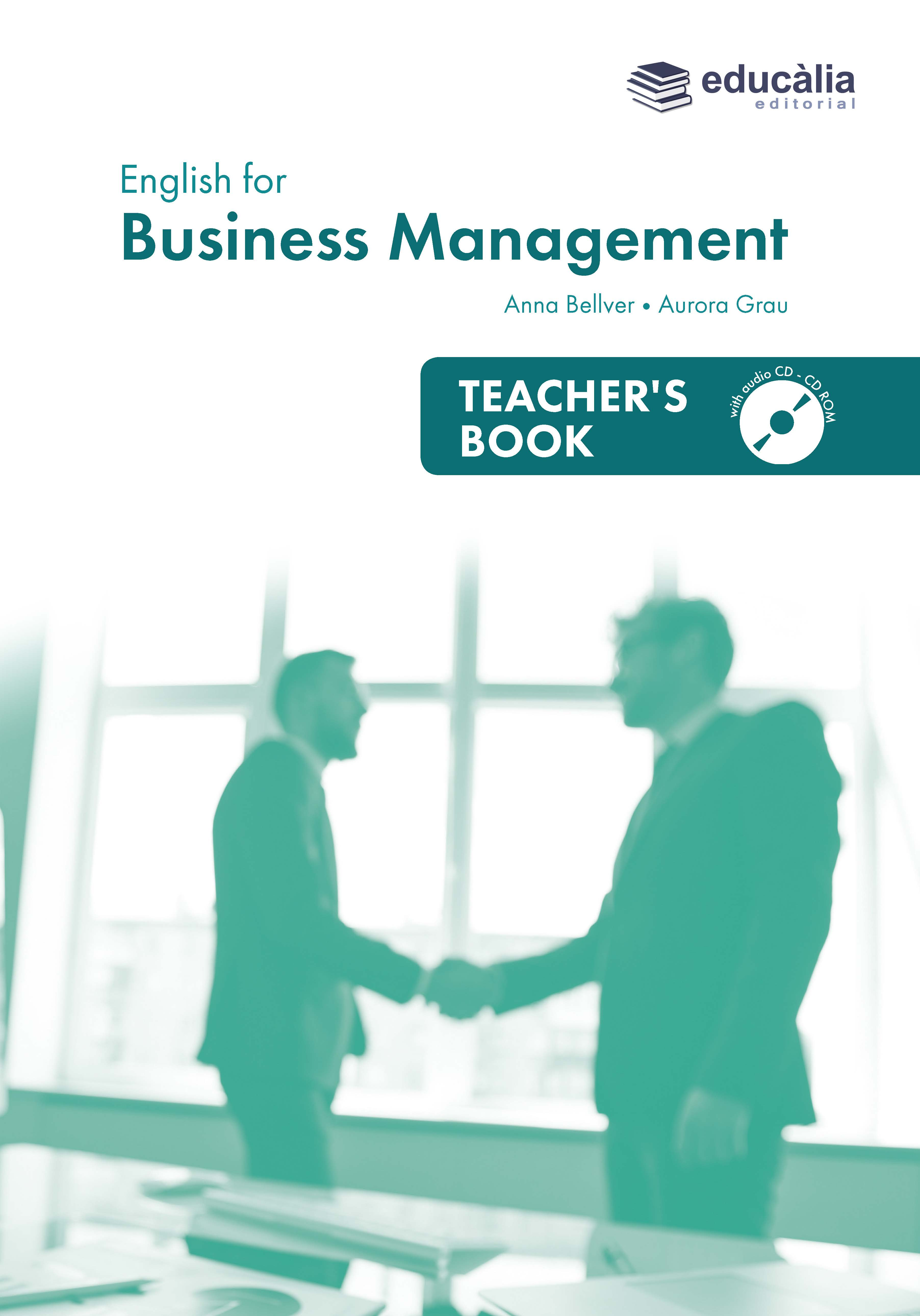 Teacher's book English for Business Management