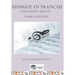 Musique en français. Cahier...